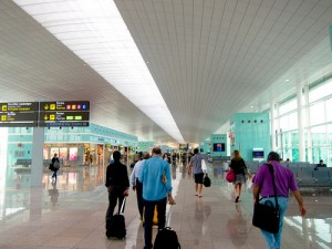 Barcelona Airport by shin-k