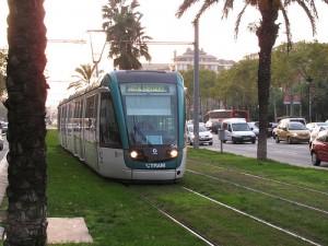 Barcelona tram by Daniel Sparing