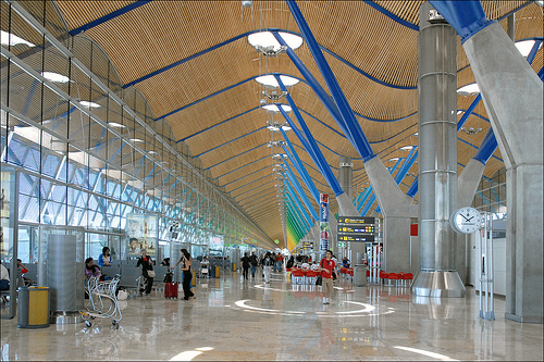 Airport Madrid by dalbera