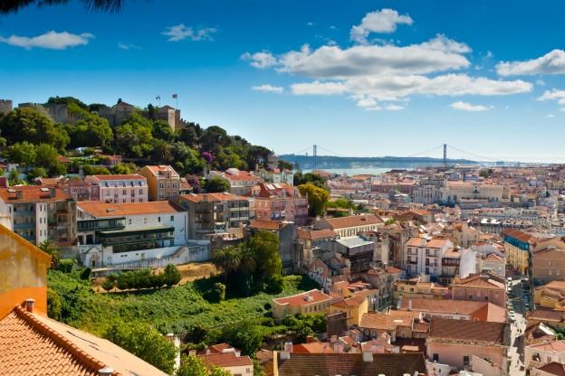 Castello of São Jorge Lisboa