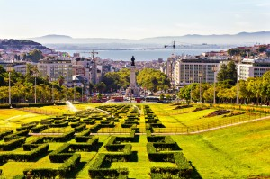 Eduardo VII park and Marques Lisbon